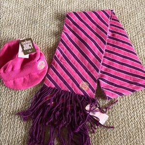 juicy Couture two piece set scarf and hat